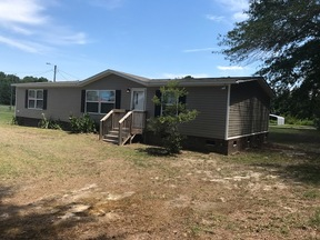 Clio SC Manufactured Home For Sale: $64,900 Will Finance