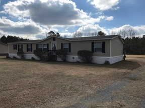 Darlington SC Manufactured Home New Listing: $79,900 Will Finance