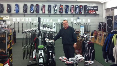 Golf Mart & Wwner Randy Agee