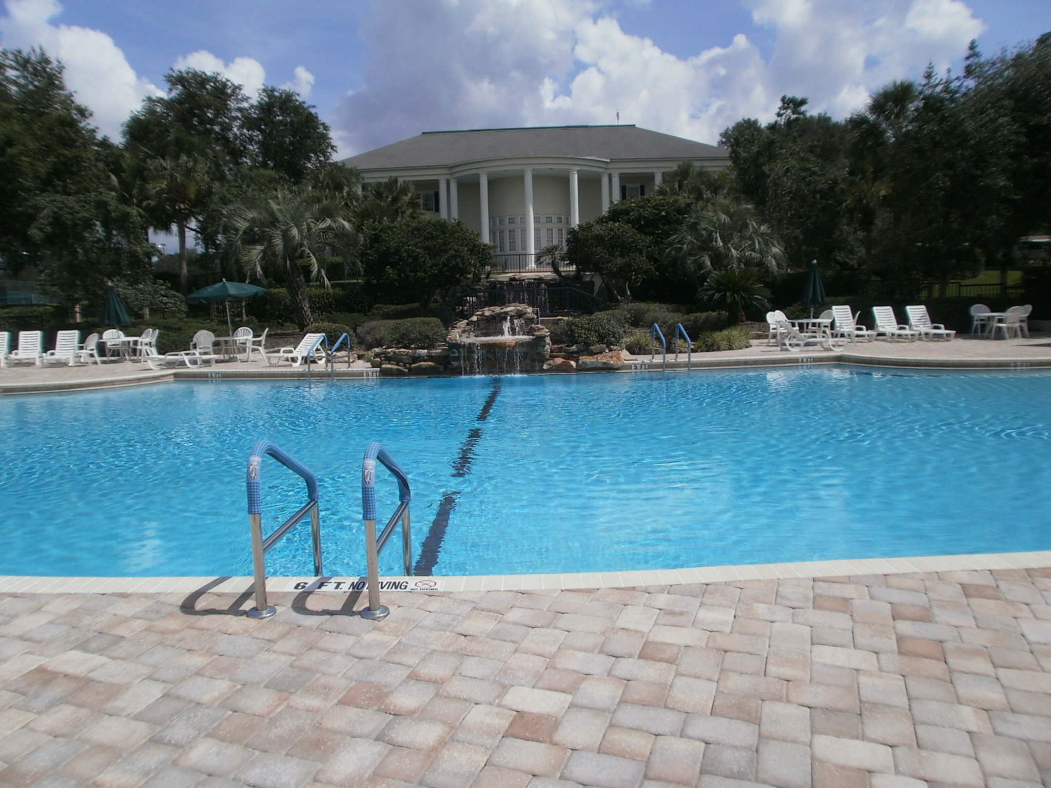 One of 3 pools at The Plantation