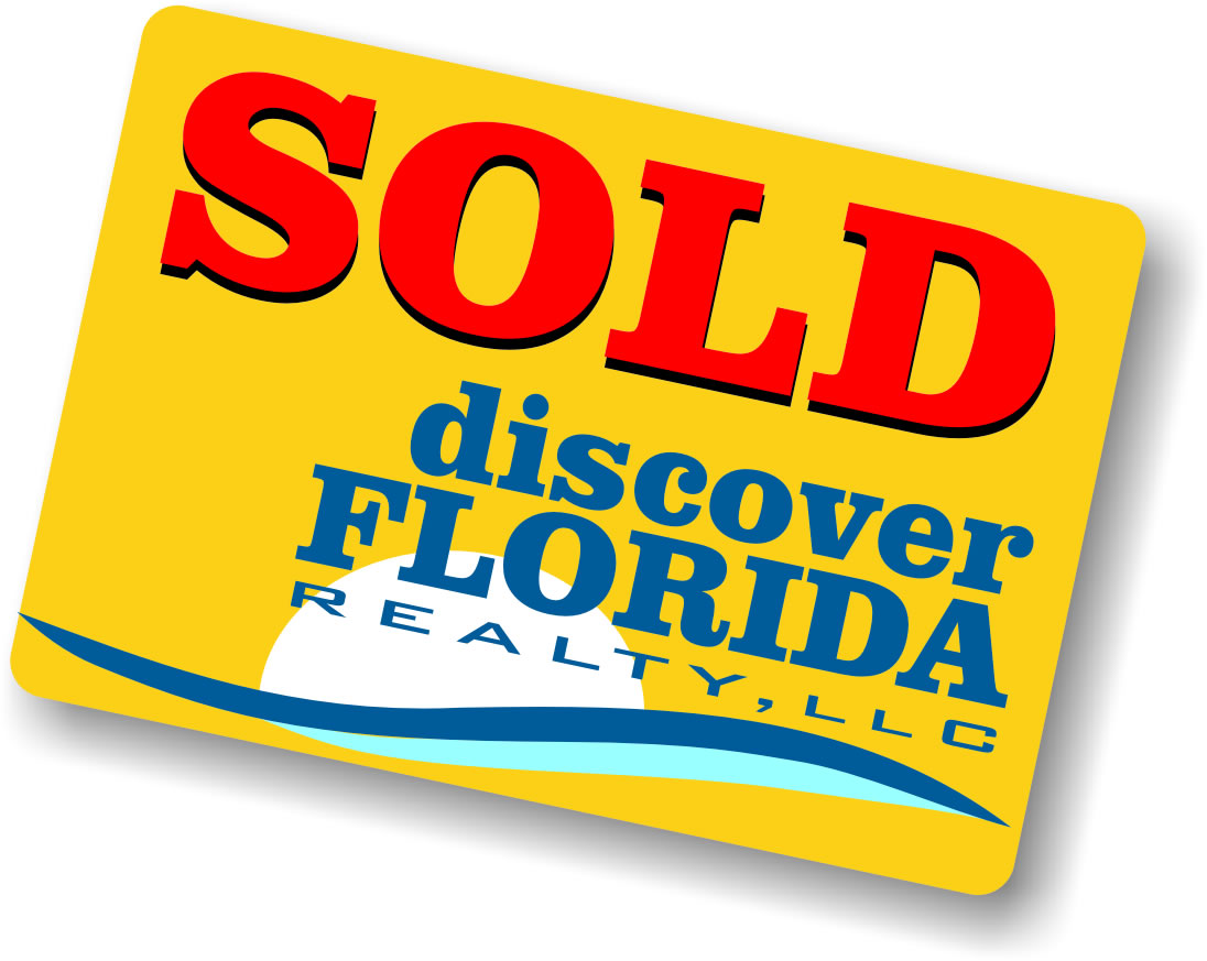 Discover Florida Realty Sold Sign
