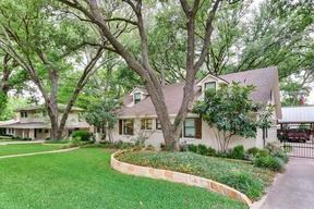 Fort Worth TX Single Family Home Sold: $650,000