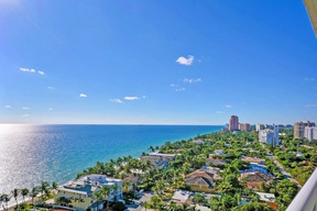 Condo/Townhouse Sold: 3100 N Ocean Blvd #1609