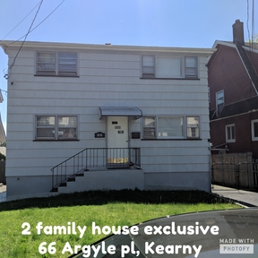Kearny NJ Multi Family Home For Sale: $469,000