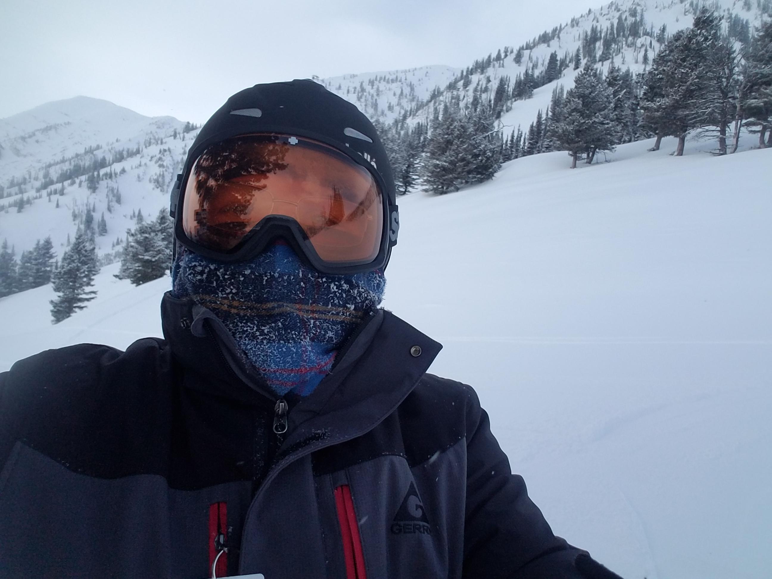 A nippy day of skiing at Bridger Bowl!