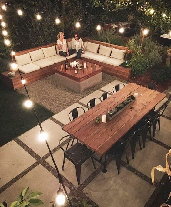 20 amazing backyard ideas that won 39 t break the bank for Affordable furniture in little rock ar