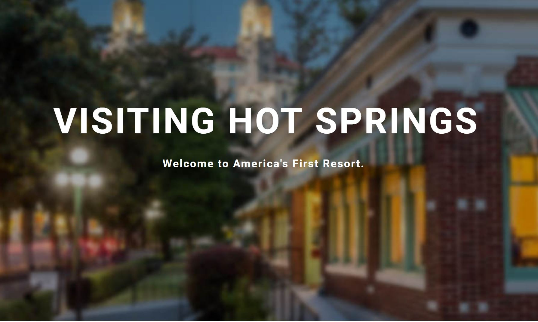 Discover Hot Springs