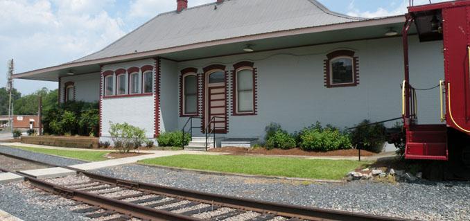 Aberdeen - Train Depot