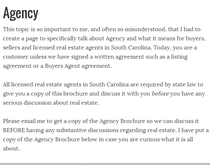 A Must Read For Buyers Sellers Free Home Search Lexington Sc