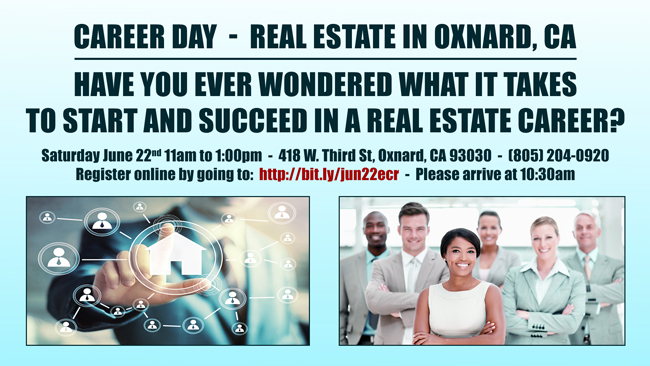 Oxnard CA Career Day June 22nd 2019