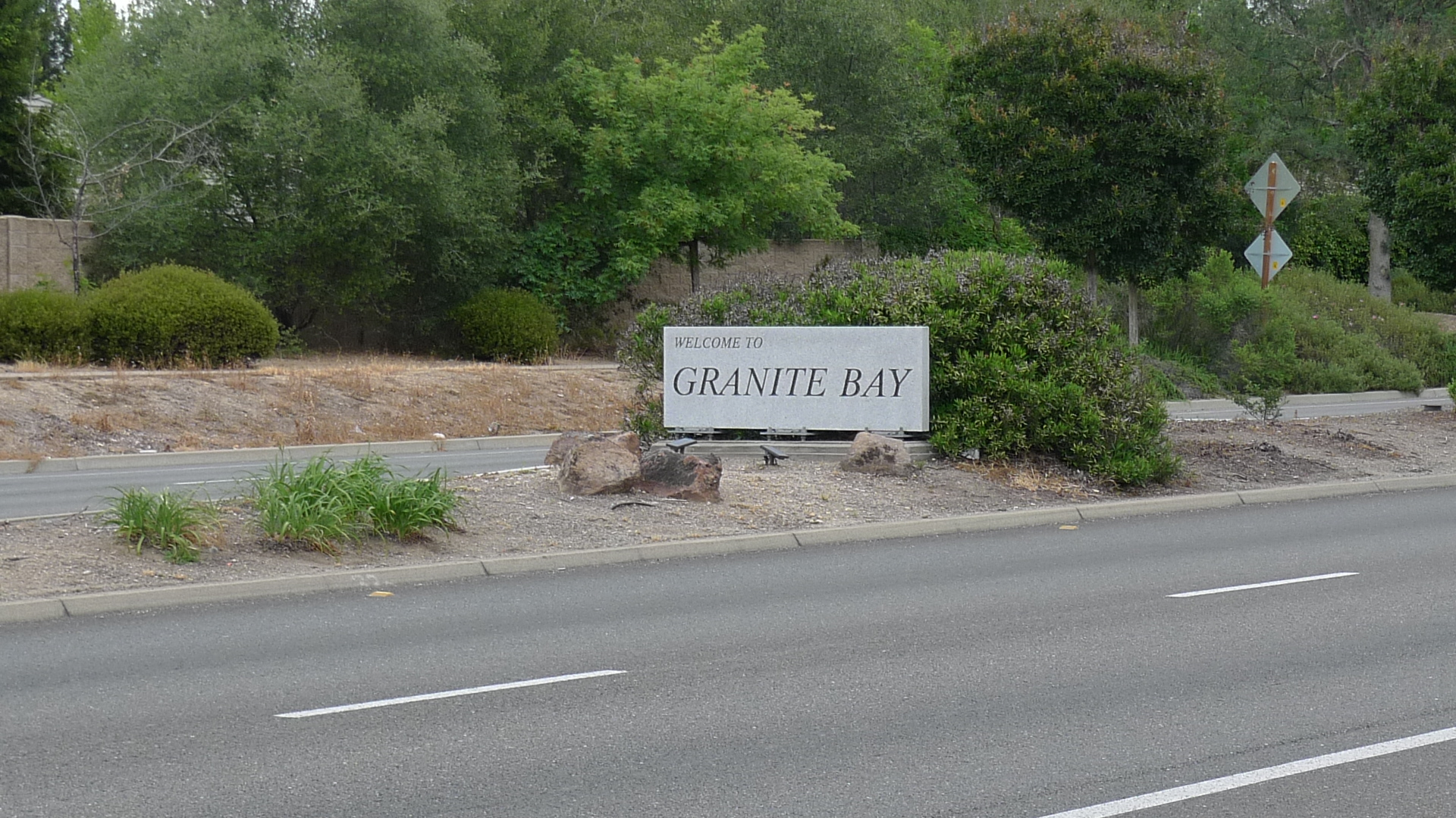 Granite Bay, CA welcome sign Loomis, CA real estate homes houses for sale