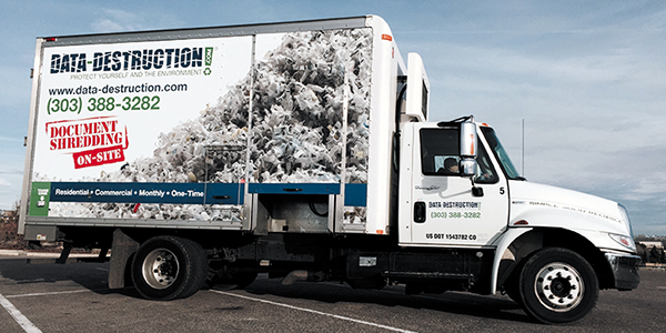 Friedman Realty Associates shred with ted truck