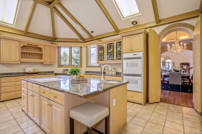 Kitchen, 10 Sunrise Drive, Englewood, CO - listed with Friedman Realty Associates