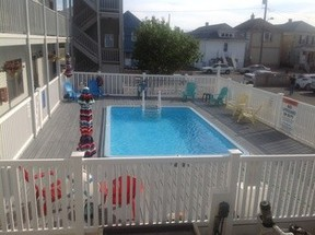 Seaside Heights NJ Condo Summer Rental: $1,400 Per Week