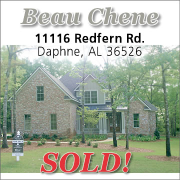 SOLD in Beau Chene Estates