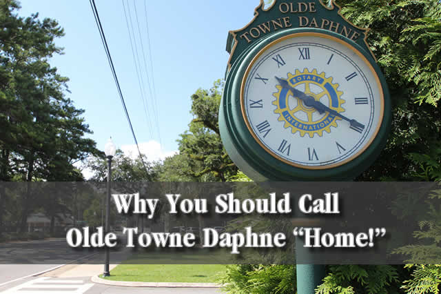 Olde Towne Daphne AL Homes for Sale