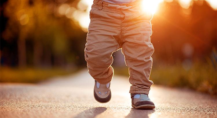 Little kid Walking