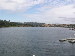 Views of Lake from Lake Tulloch Shores