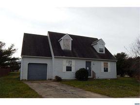 Dover DE Single Family Home Sold: $129,900