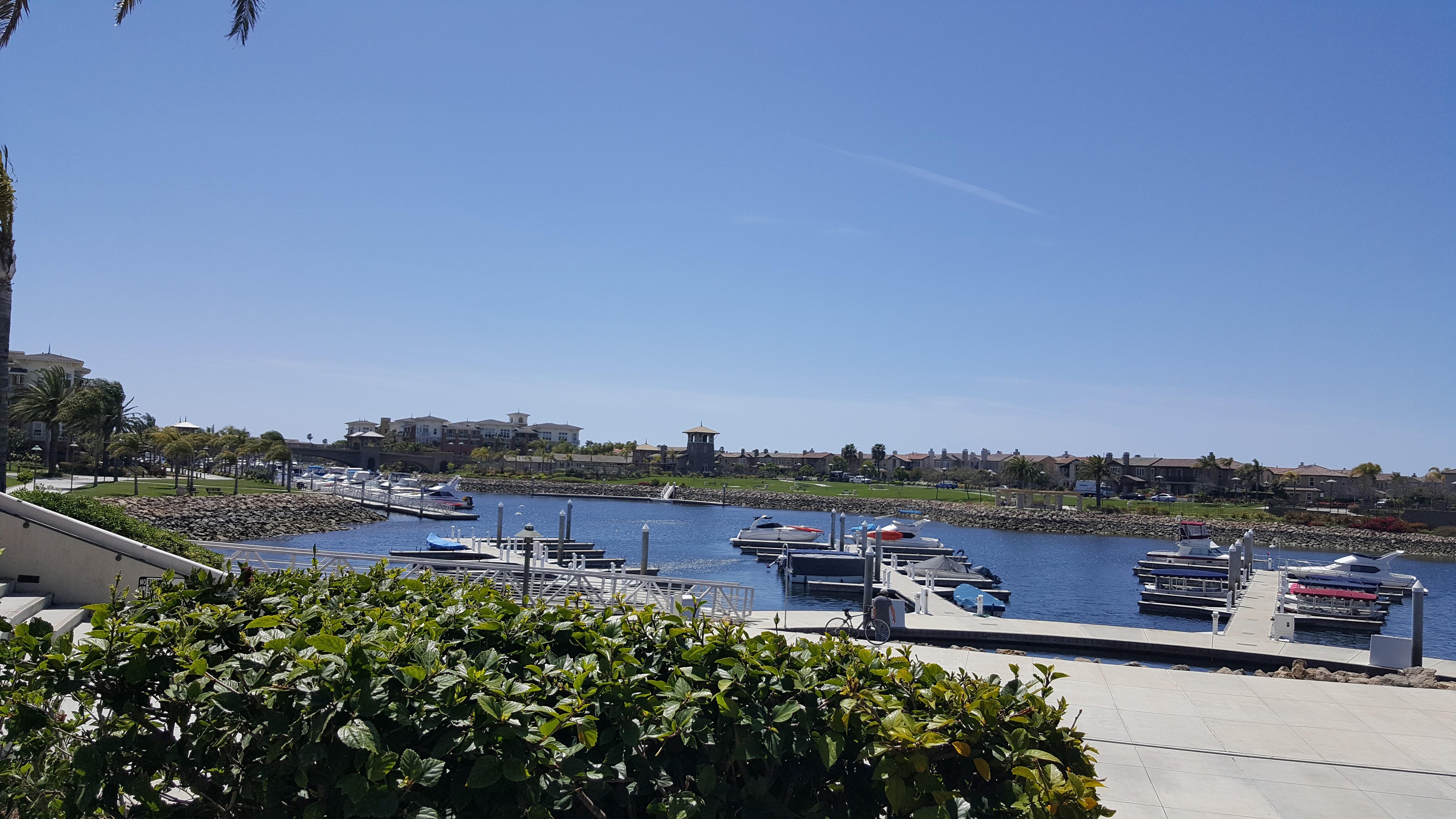 Oxnard Marina and Seabridge Marketplace in Oxnard CA
