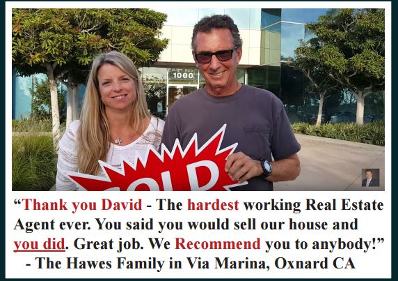 Seller tesimonila in Via Marina community Oxnard CA