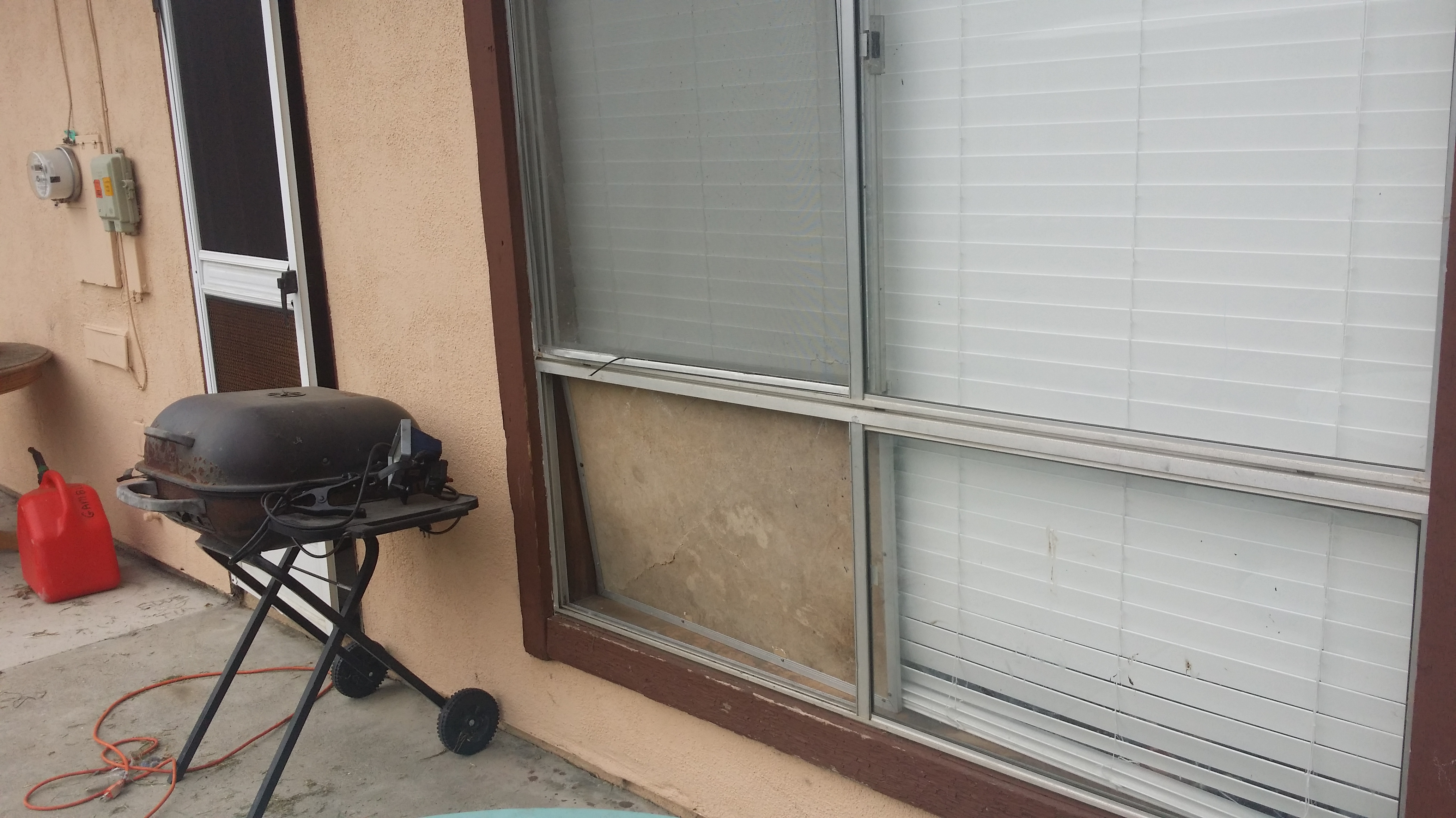 Broken window 1510 Fathom Dr Home for Sale