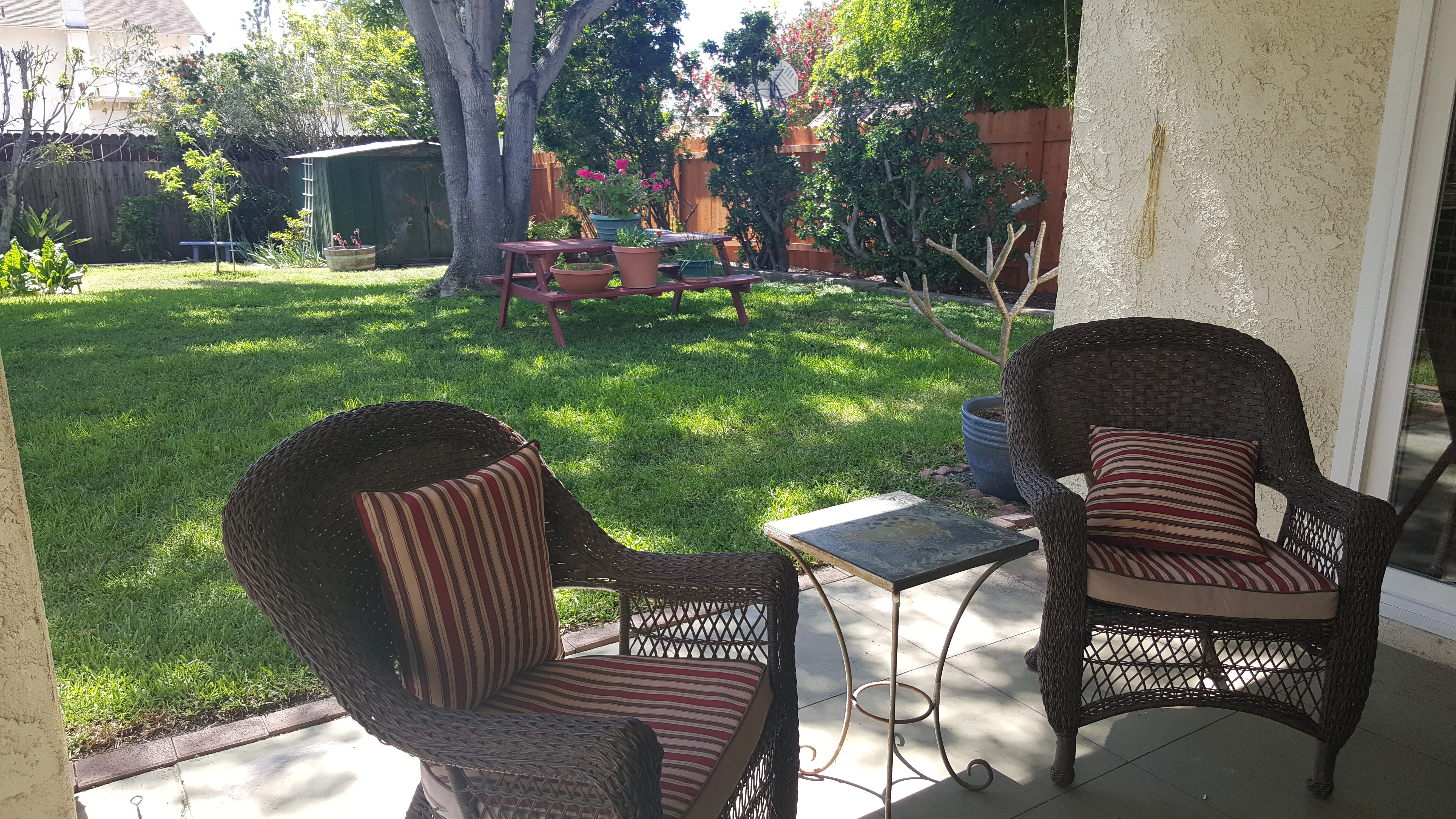 covered porch area 3400 keel ave home for sale in Via Marina Oxnard CA
