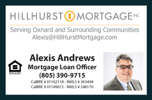 Call Alexis Andrews for all your Mortgage Needs at (805) 390-9715