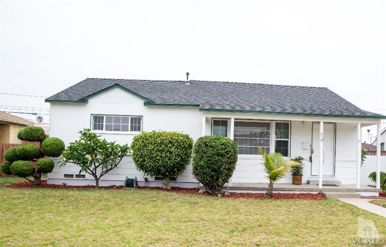 315 E Hemlock St Home For Sale in Oxnard CA