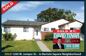 Single Family Home Sold: 1265 W Juniper Street