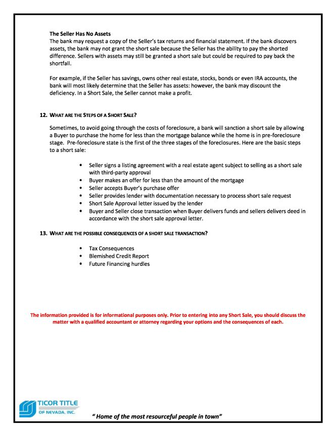 Short Sale Guide page 5.