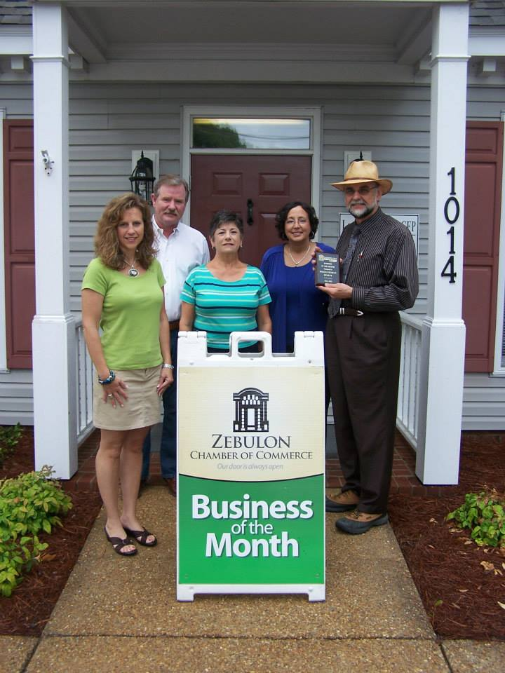 "Zebulon Chamber of Commerce ""Business of the Month"""