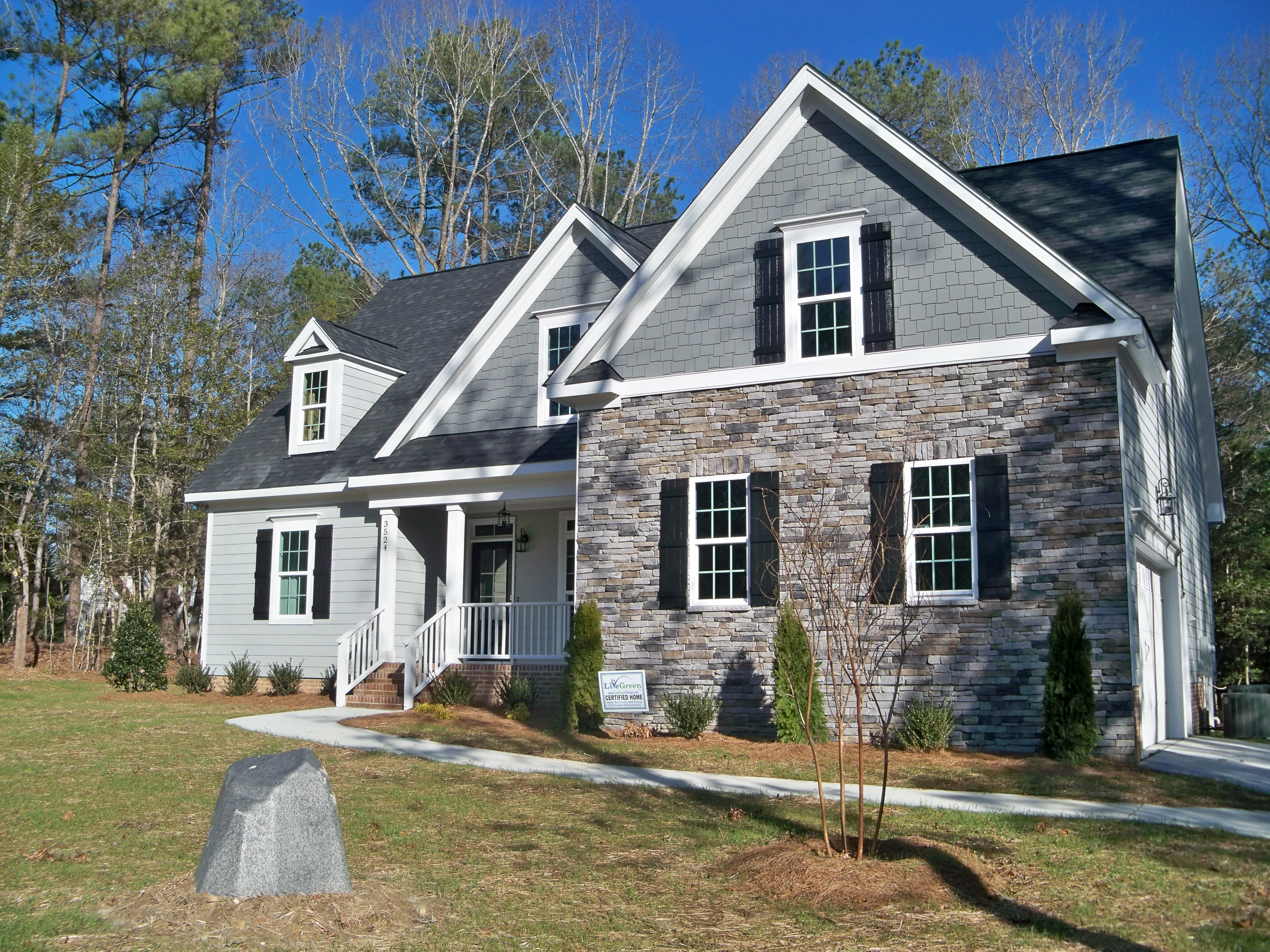New Construction in Coldwater Creek.  Quality and Design!