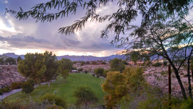 A Picture's Worth a Thousand Words. A view of Cottonwood Canyon in Summerlin Las Vegas.