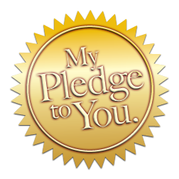 My pledge to you.