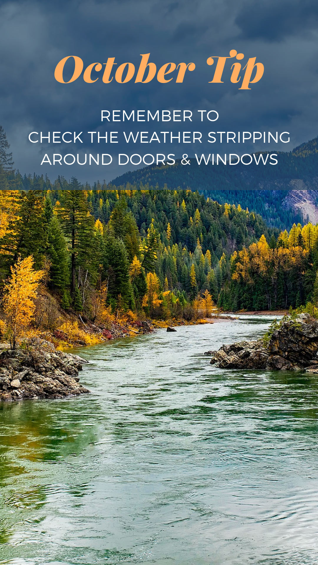 October Home Maintenance Weather Stripping Live in MT Blog Real Estate
