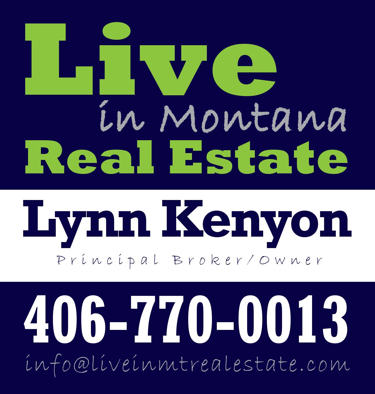 Lynn Kenyon Broker Realtor Live in MT Real Estate Augusta Craig Cascade Malmstrom Montana