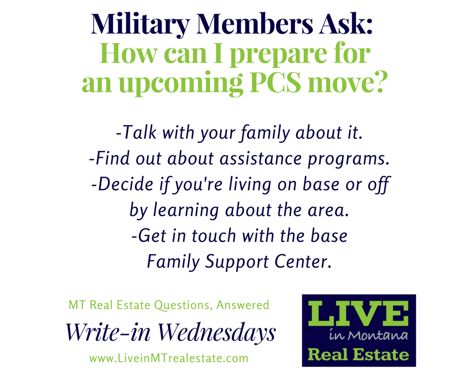 Military PCS Relocation Specialist Lynn Kenyon Live In MT #liveinmt Real Estate