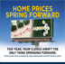 Home Prices Spring Forward