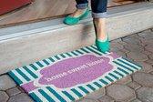 down, payment, assistance, door mat