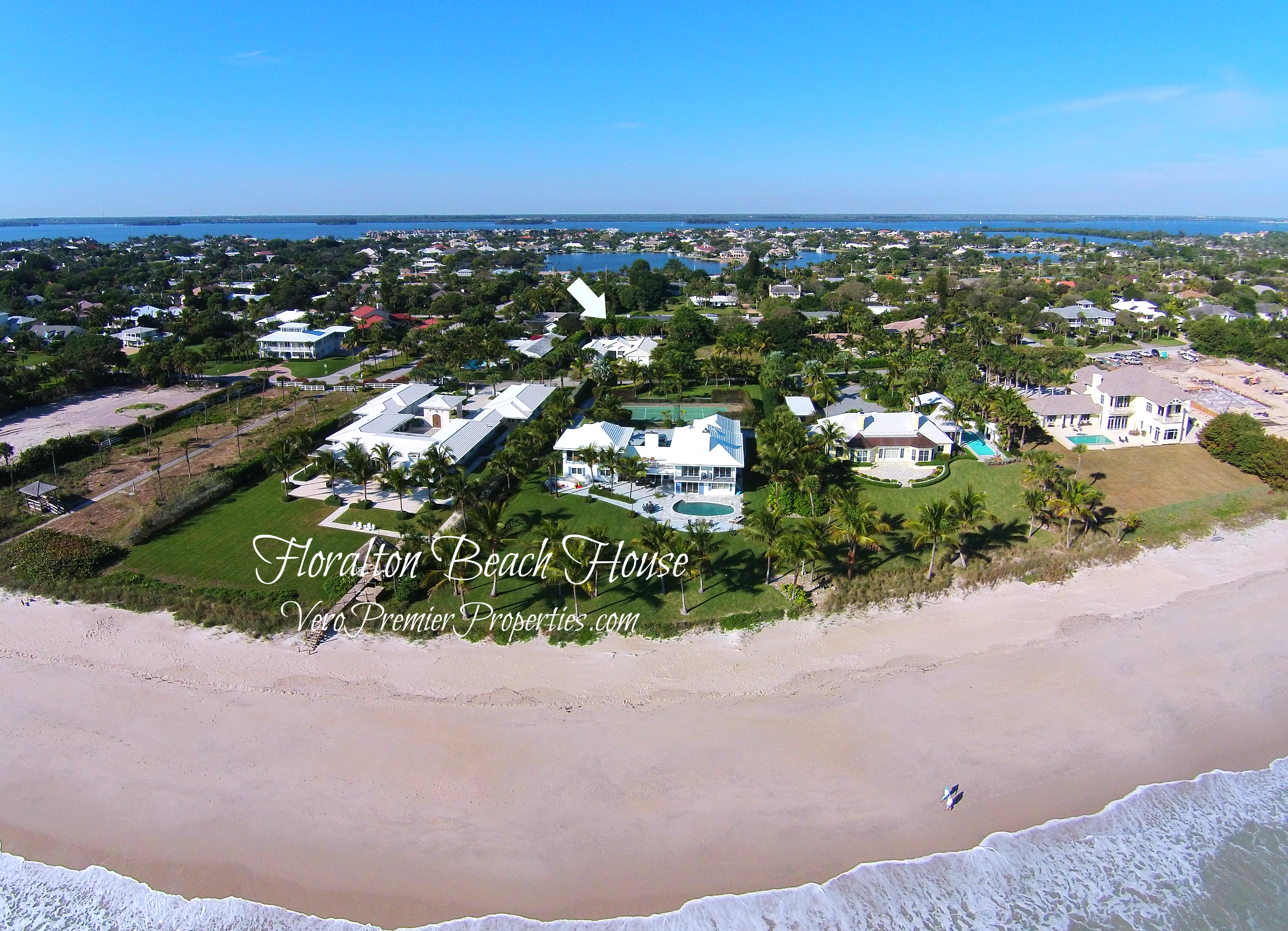 BEACH HOUSE VERO BEACH FLORIDA REDUCED PRICE 775 REEF ROAD