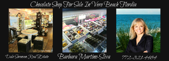CHOCOLATE SHOP FOR SALE VERO BEACH FLORIDA ESTABLISHED UPSCALE