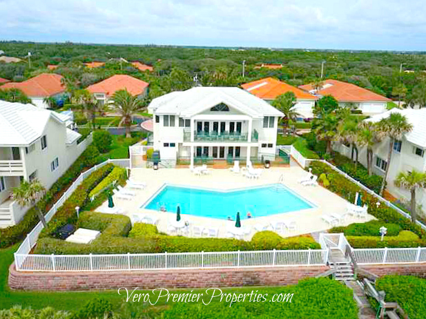 MARBRISA GATED ISLAND HOMES VERO BEACH OCEANFRONT BEACH CLUB