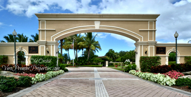 OLD ORCHID ISLAND GATED HOMES VERO BEACH FLORIDA