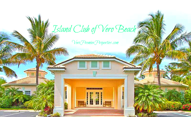 ISLAND CLUB OF VERO BEACH HOMES GATED ISLAND HOMES