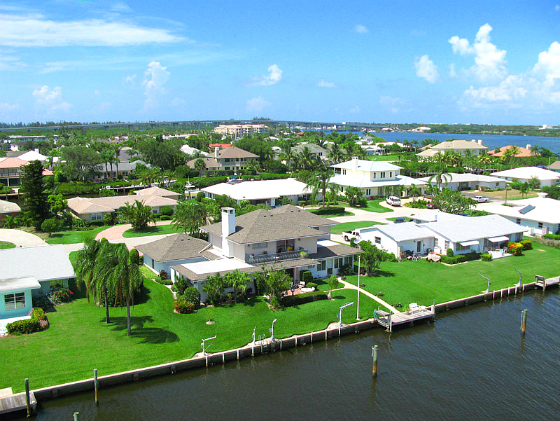 VERO ISLE WATERFRONT HOME WITH DOCK VERO BEACH FLORIDA