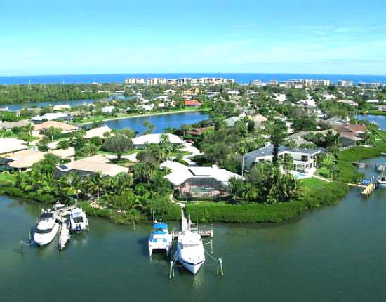 Cache Cay Vero Beach Riverfront Homes With Private Docks