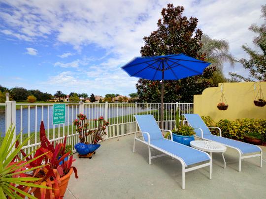 WATERWAY VILLAGE POOL HOME VERO BEACH FLORIDA