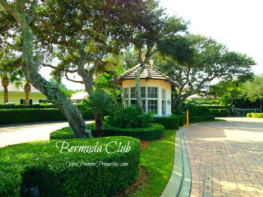 BERMUDA CLUB VERO BEACH FLORIDA GATED ISLAND HOMES