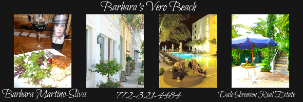 MY VERO BEACH LIFESTYLE WITH BARBARA MARTINO-SLIVA